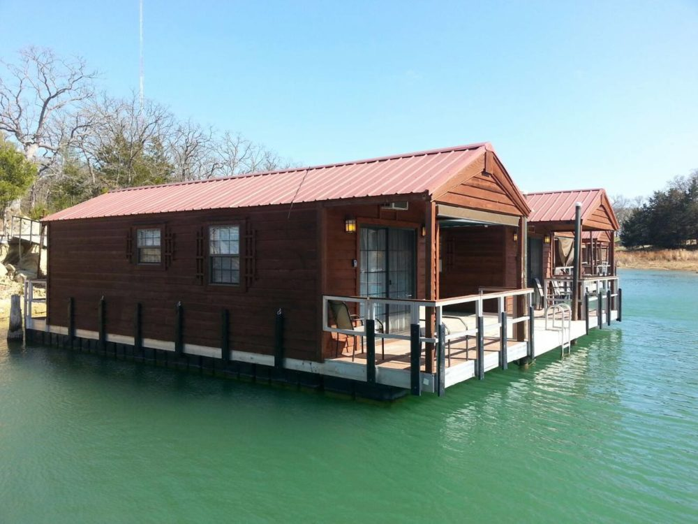 These floating cabins in oklahoma are the ultimate place for Lake cabins for rent in massachusetts