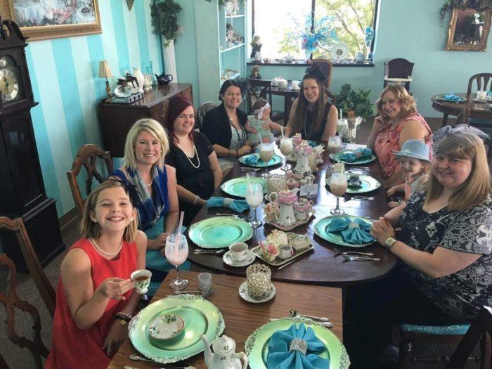 Victorian Tea Room Tulsa Ok