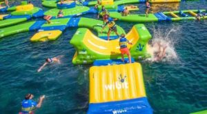 The Fantastic Floating Water Park In Indiana That Will Make Your Summer Epic