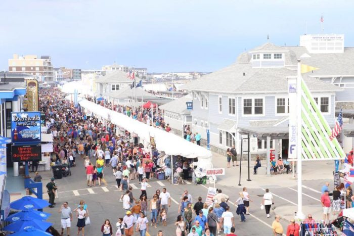 The hampton beach seafood festival is the best food fest for Plenty of fish nh