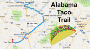 Your Tastebuds Will Go Crazy For This Amazing Taco Trail In Alabama