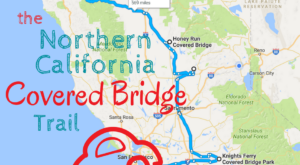 There's A Covered Bridge Trail In Northern California And It's Everything You've Ever Dreamed Of