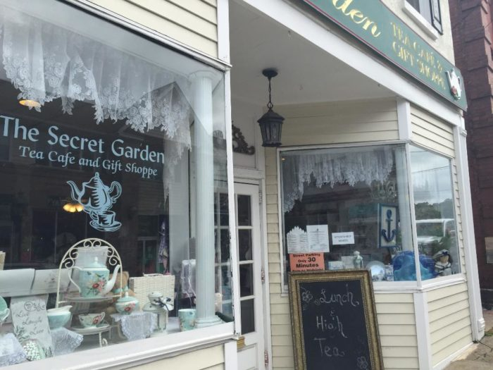 The Secret Garden Tea Room Port Jefferson Ny
