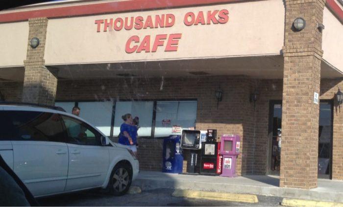 Thousand Oak Cafe San Antonio Tx