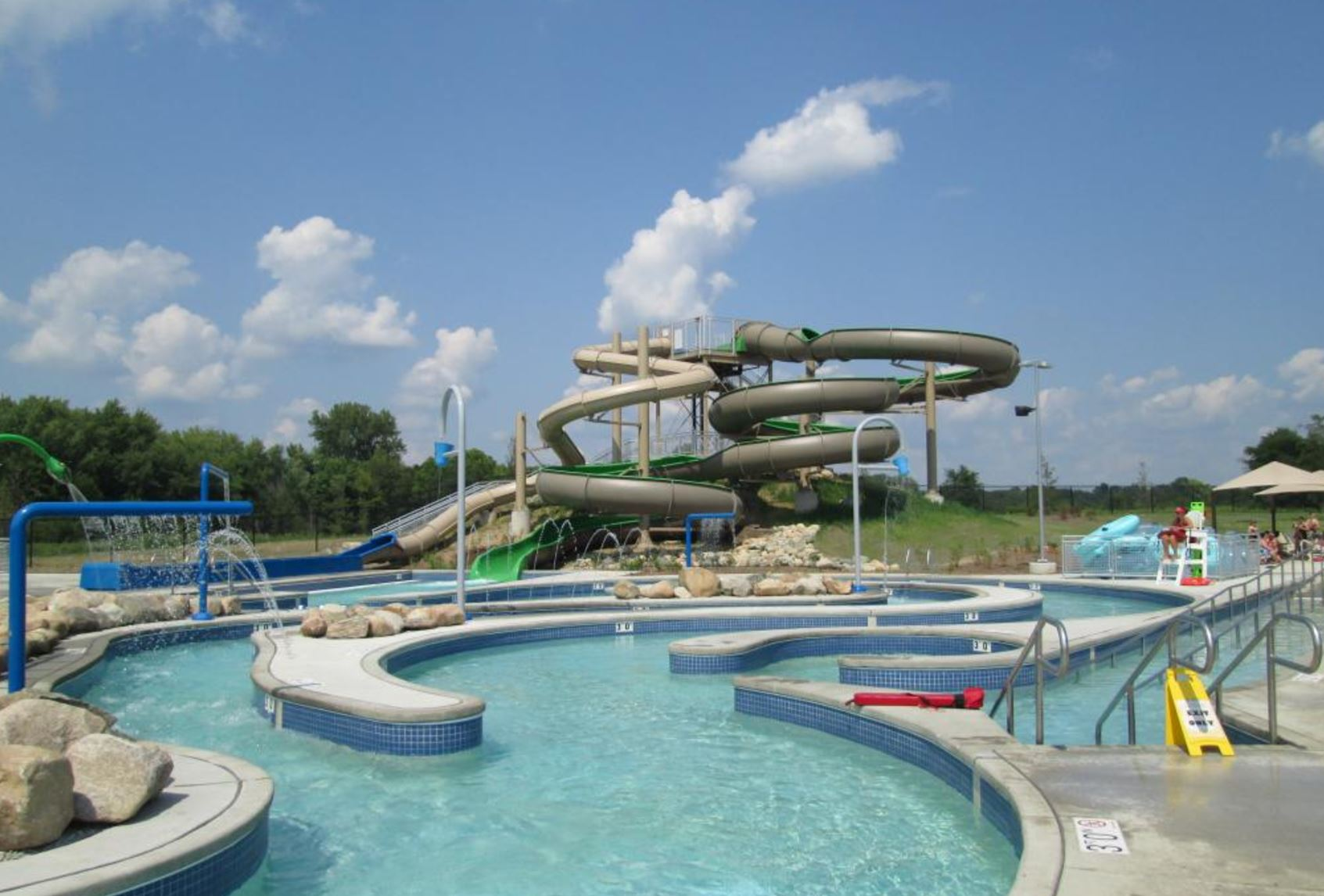 There 39 s a hidden water park in prophetstown state park in Washington park swimming pool milwaukee