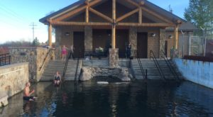 This Wyoming Hot Springs Is Believed To Have Healing Powers And You'll Want To Visit