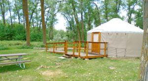 This Amazing North Dakota Campground Is The Perfect Place To Pitch Your Tent