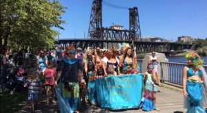 Portland's Magical Mermaid Parade Will Make All Your Childhood Dreams Come True