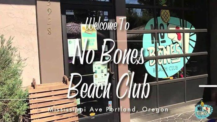 No Bones Beach Club The Tropical Themed Restaurant In Portland