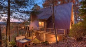 The Charming Cabin Hiding In The Georgia Mountains That Will Give You An Unforgettable Overnight Stay