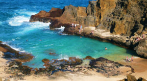 Some People Call This Beach In Hawaii A Little Slice Of Paradise