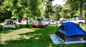 This Amazing Iowa Campground Is The Perfect Place To Pitch Your Tent