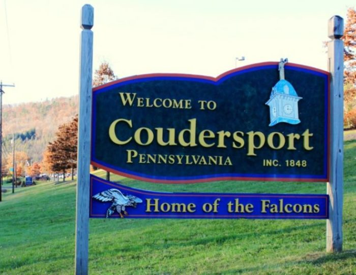 coudersport is the most adorable town in pennsylvania