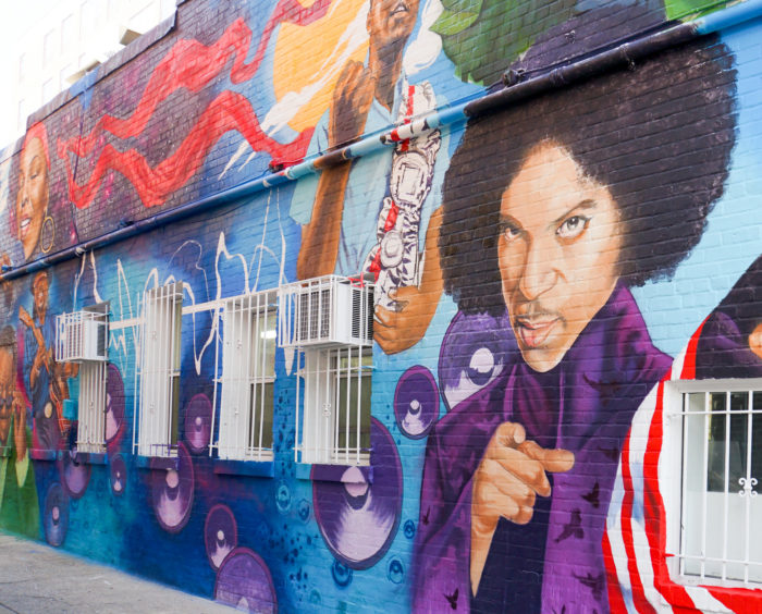 The 14 best murals around washington dc for Chuck brown mural