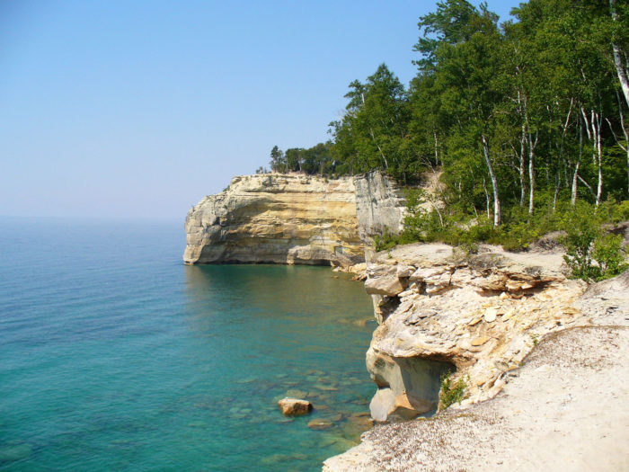michigan places rocks visit lakeshore pictured national trips mi unimaginably onlyinyourstate take