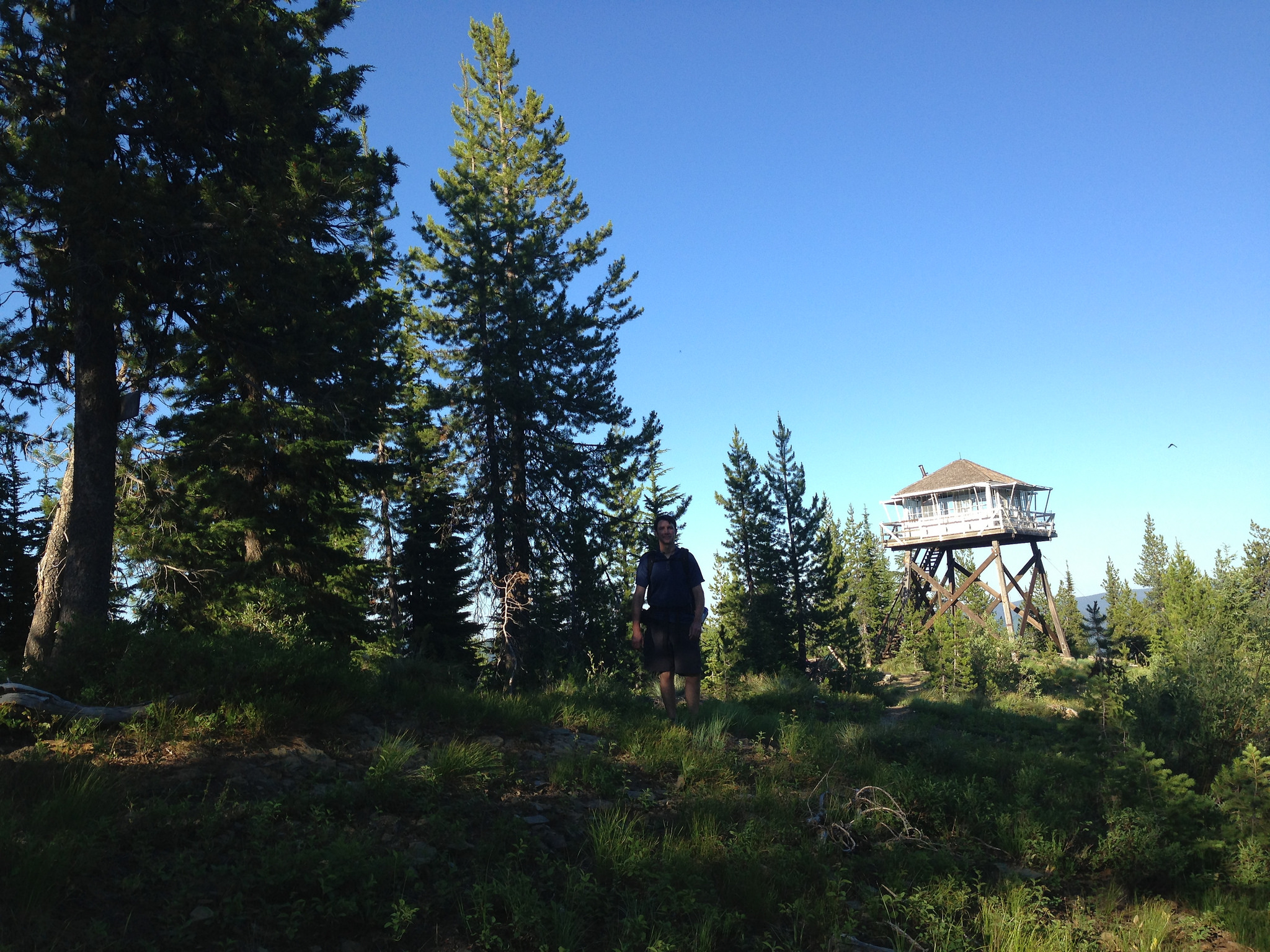 Camping In Fire Lookout Towers In Idaho