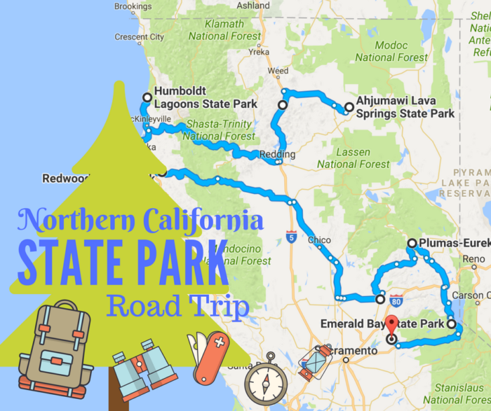 11 Unforgettable Road Trips To Take In Northern California Before: Northern California Road Map At Slyspyder.com