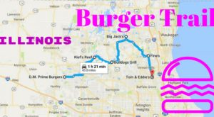 There's A Cheeseburger Trail In Illinois You'll Want To Take ASAP