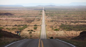 A Drive Down New Mexico's Loneliest Road Will Take You Miles And Miles Away From It All