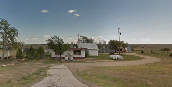 No Country for Old Men coin toss filming location