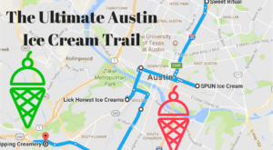 This Mouthwatering Ice Cream Trail In Austin Is All You've Ever Dreamed Of And More