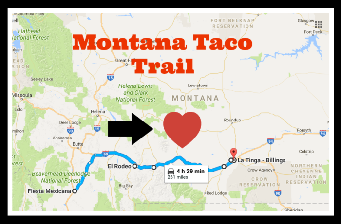 The Amazing Taco Trail In Montana