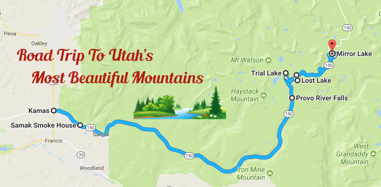 Utah Road Trip Along The Mirror Lake Scenic Byway