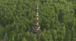 You Won't Believe This Insane Cabin Tower In Alaska Is Real