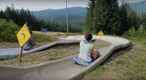 The Mountain Slide In Oregon That Will Take You On A Ride Of A Lifetime