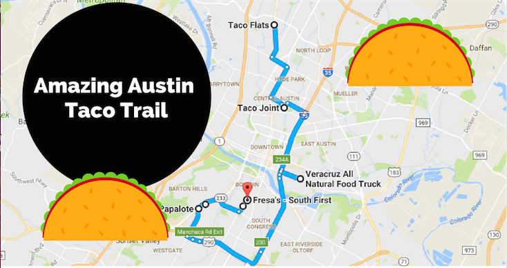 The Ultimate Taco Trail Through Austin on