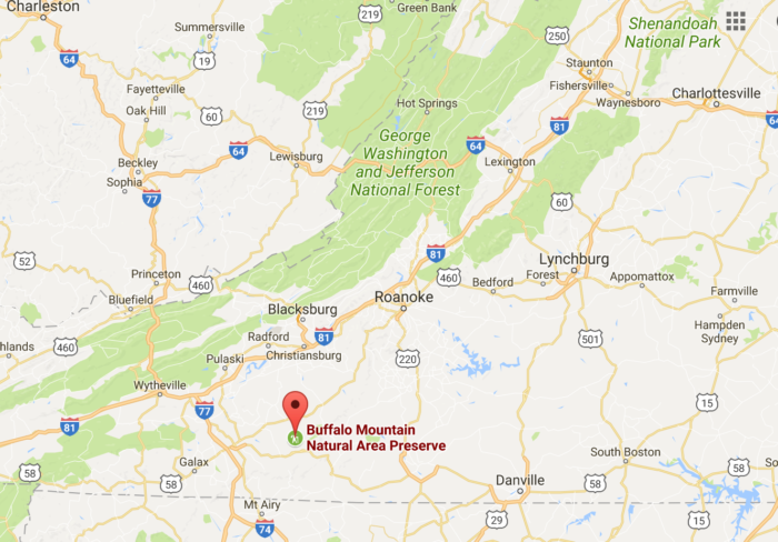 Buffalo Mountain Trail Has The Best Views In Virginia - Where is buffalo located