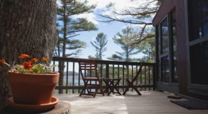 Sleep Underneath The Forest Canopy At This Epic Treehouse In Maine