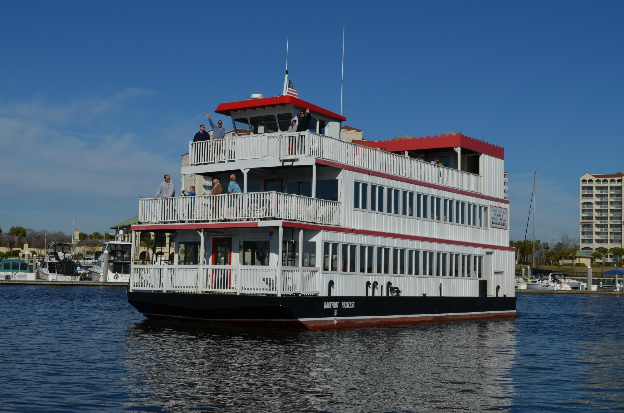 The Barefoot Princess Is The Little Known Riverboat Cruise In South Carolina