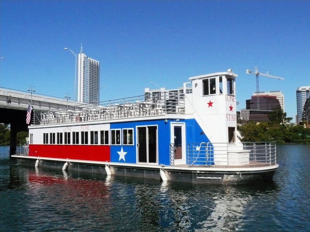 Lone Star Riverboat Offers Fun Cruises On Lady Bird Lake In Texas