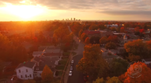 What This Drone Footage Caught In Louisville Will Drop Your Jaw