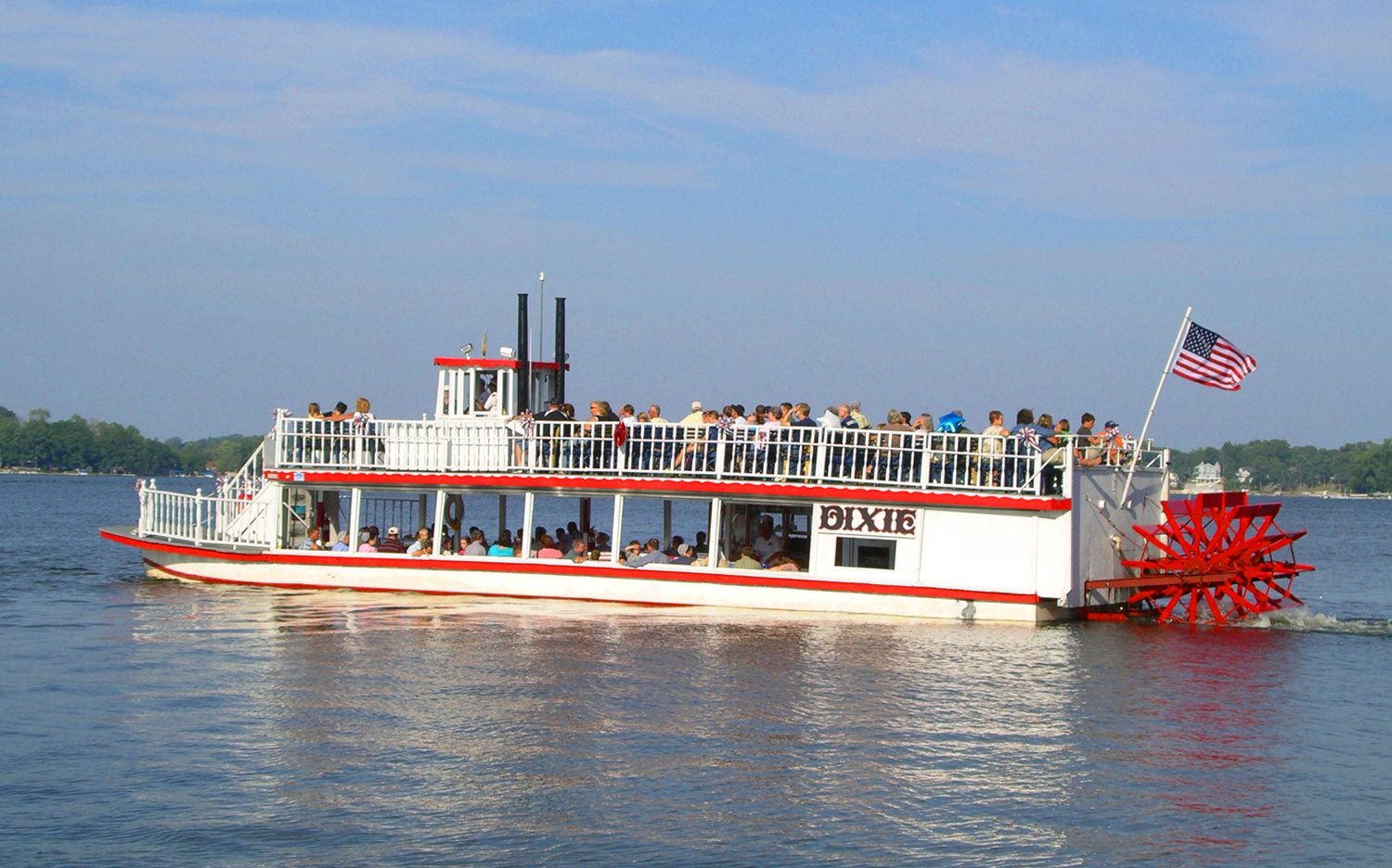 This Riverboat Cruise In Indiana Offers A Historic Fun Time