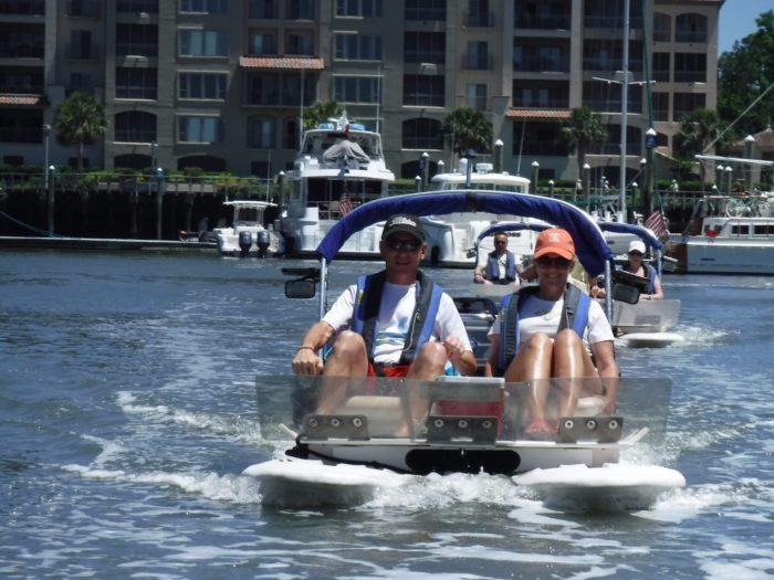 Rent Two Person Mini Catamarans At Backwater Cat