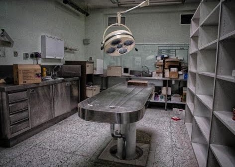 The Insanely Creepy Abandoned Morgue In California That