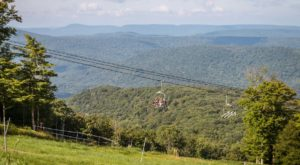 The Quintessential West Virginia Ski Town That's Even Better In The Summertime
