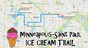 This Mouthwatering Ice Cream Trail In Minneapolis-Saint Paul Is All You've Ever Dreamed Of And More