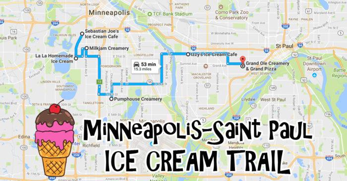 The Ultimate Ice Cream Trail In Minneapolis-Saint Paul