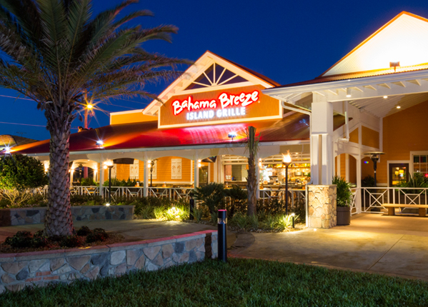 bahama breeze is the best tropical themed restaurant in north carolina