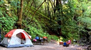 This Amazing Northern California Campground Is The Perfect Place To Pitch Your Tent