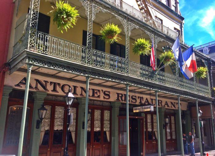 2 Antoine S Restaurant 713 Saint Louis St
