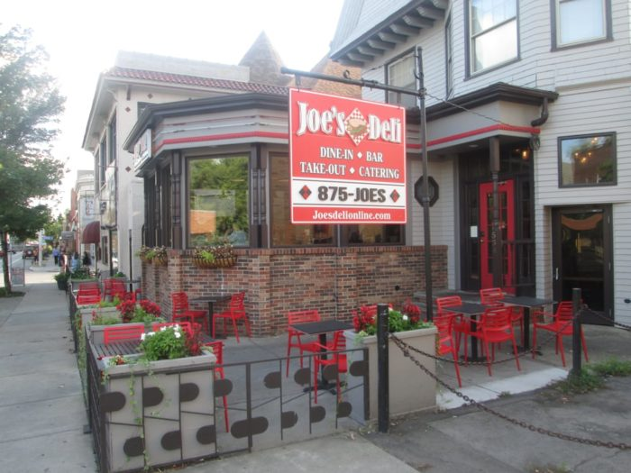 Buffalo Joe S Cafe Menu