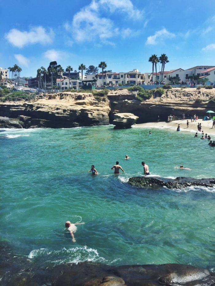 La Jolla Cove Beach Has The Bluest Water In Southern