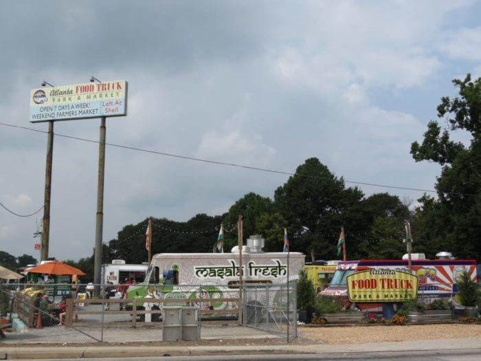 Food Truck Parks In Atlanta Ga