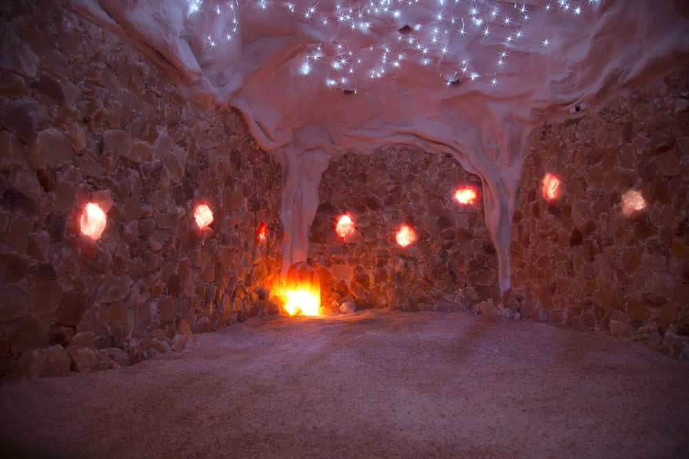 the salt cave in louisville is incredible