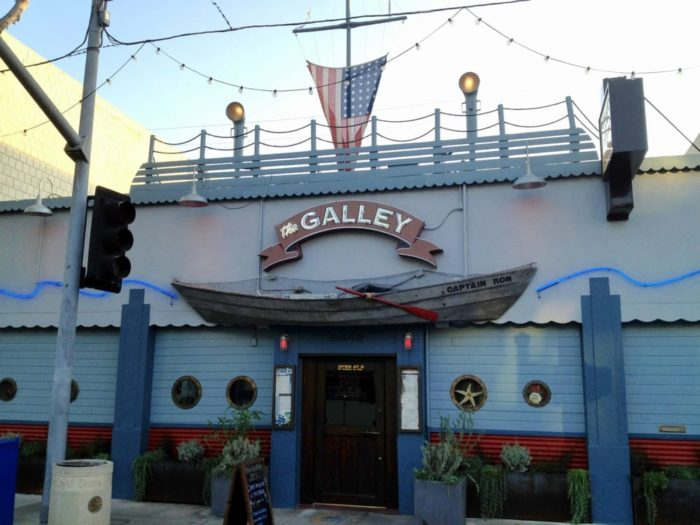 The galley is one of best nautical themed restaurants