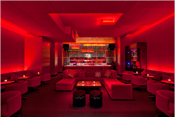The red lounge